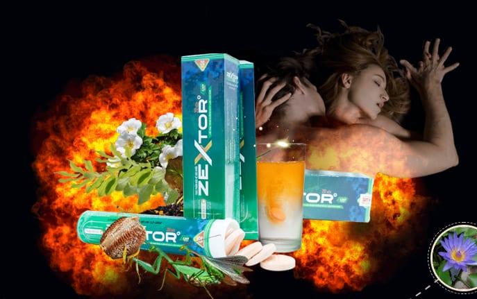 Công dụng Viên sủi tăng cường sinh lý Zextor