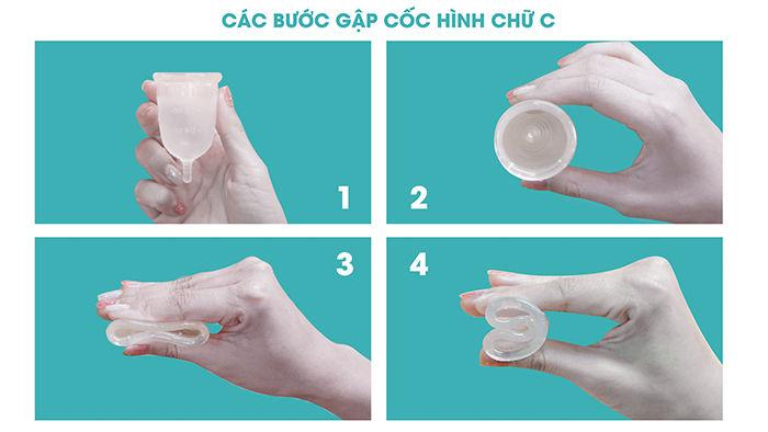 Hướng dẫn sử dụng cốc nguyệt san BeU Cup