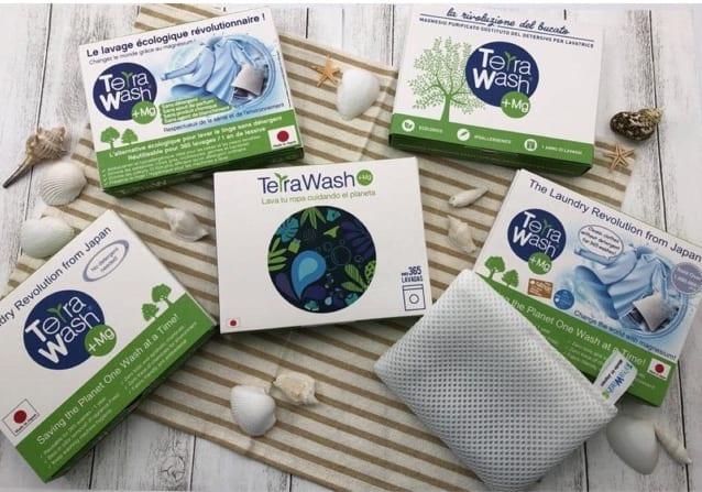 Túi giặt thông minh Terra wash +mg nhật bản