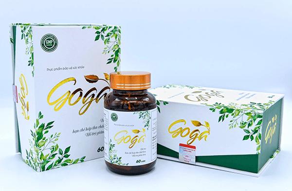 Công dụng của thảo dược giảm cân GOGA