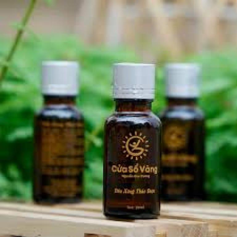 Tinh dầu thảo dược cửa sổ vàng