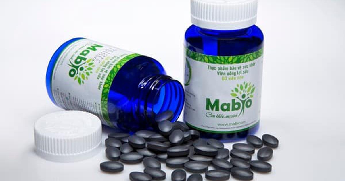 Nguồn gốc viên uống lợi sữa Mabio
