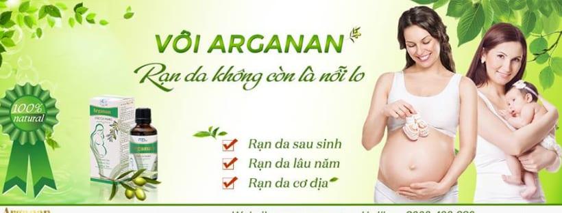 Dầu trị rạn da Arganan