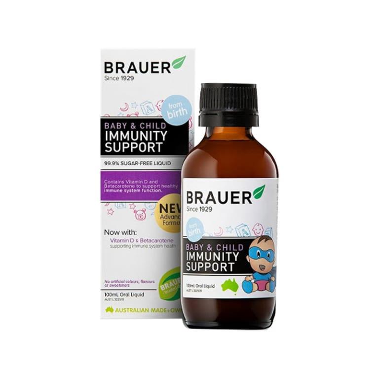 Brauer Siro tăng sức đề kháng cho trẻ sơ sinh và trẻ nhỏ