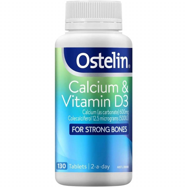 OSTELIN BỔ SUNG CANXI VÀ VITAMIN D CHO BÀ BẦU CALCIUM & VITAMIN D3 130 VIÊN