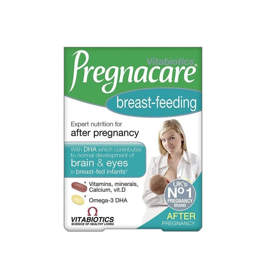 VITABIOTICS VITAMIN TỔNG HỢP CHO PHỤ NỮ SAU SINH PREGNACARE BREAST-FEEDING 84 VIÊN