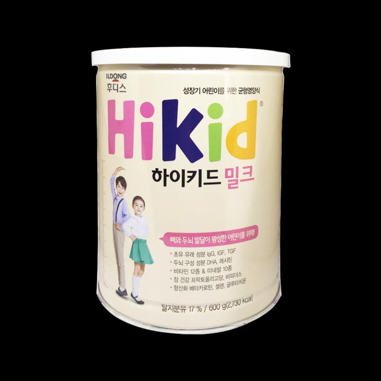 Hikid Sữa dinh dưỡng vị Vani cho bé từ 1 - 9 tuổi 600g