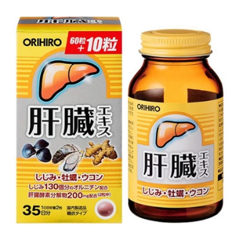 Viên uống bổ gan Shijimi Orihiro