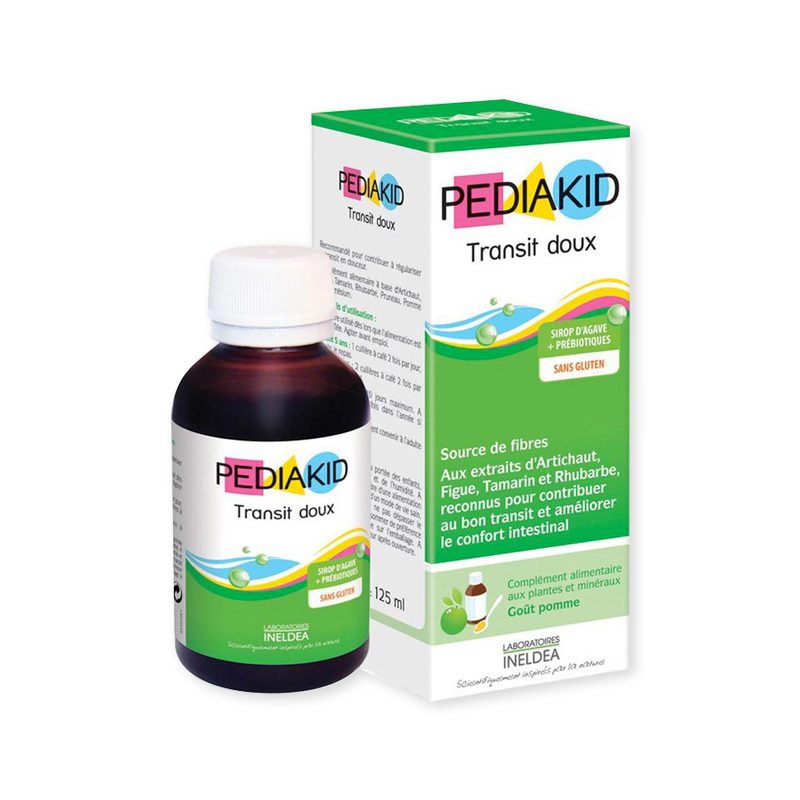 Pediakid Siro bổ trợ tiêu hóa cho bé từ 6 tháng tuổi Transit doux 125ml