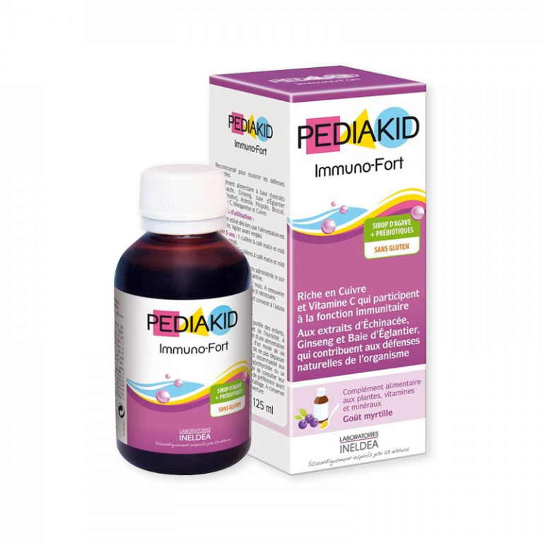 Siro tăng cường sức đề kháng cho bé Immuno Fort 125ml