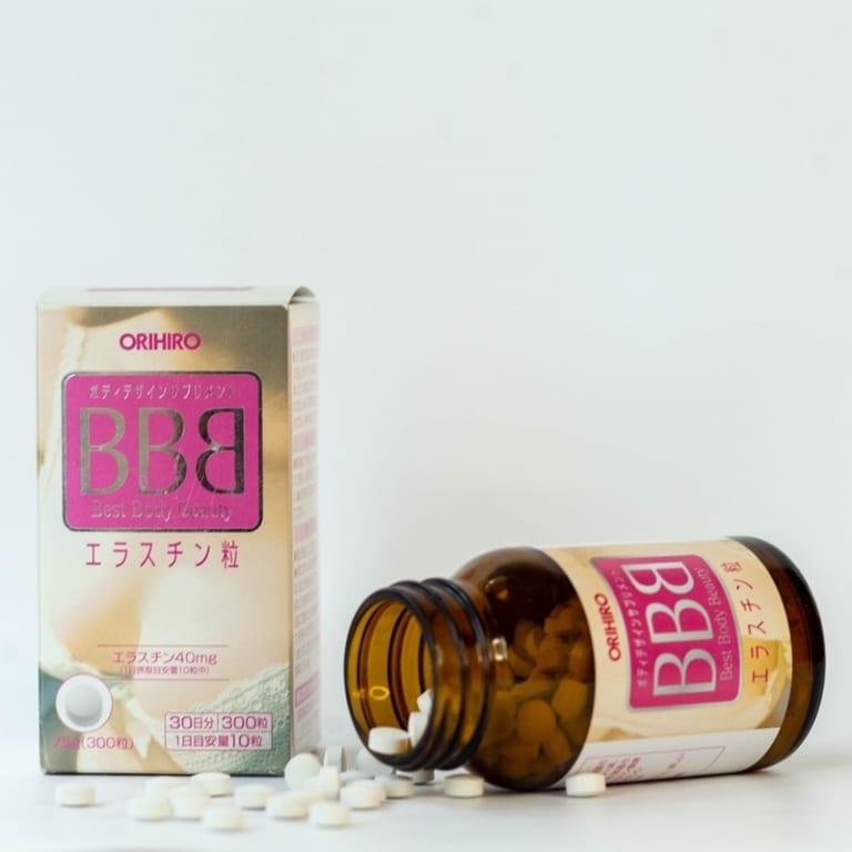 Viên uống nở ngực BBB Orihiro (300 viên)