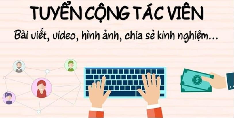 Tuyển cộng tác viên viết bài online tại nhà